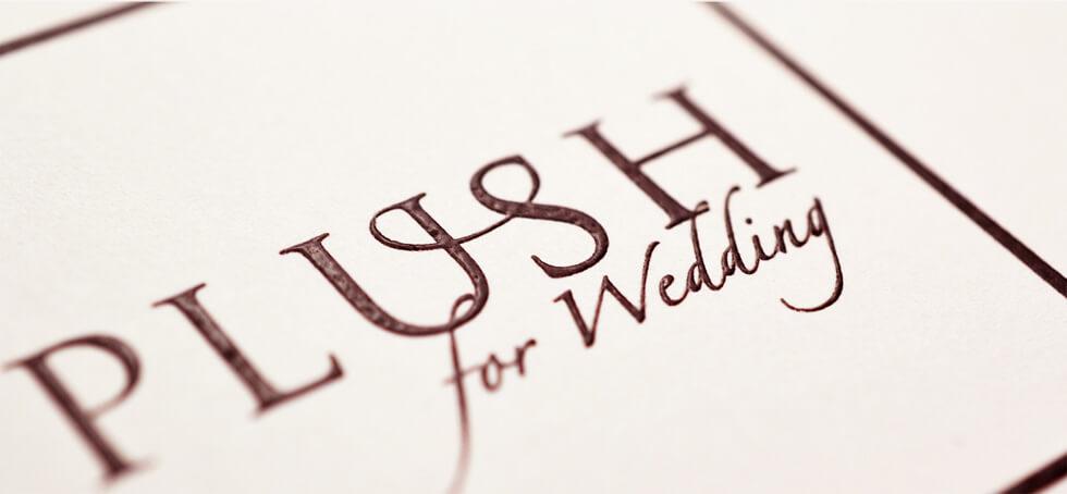 PLUSH for Weddingショップコンセプト