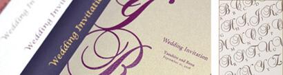 ペーパーアイテム(招待状・席次表)|PLUSH for Wedding